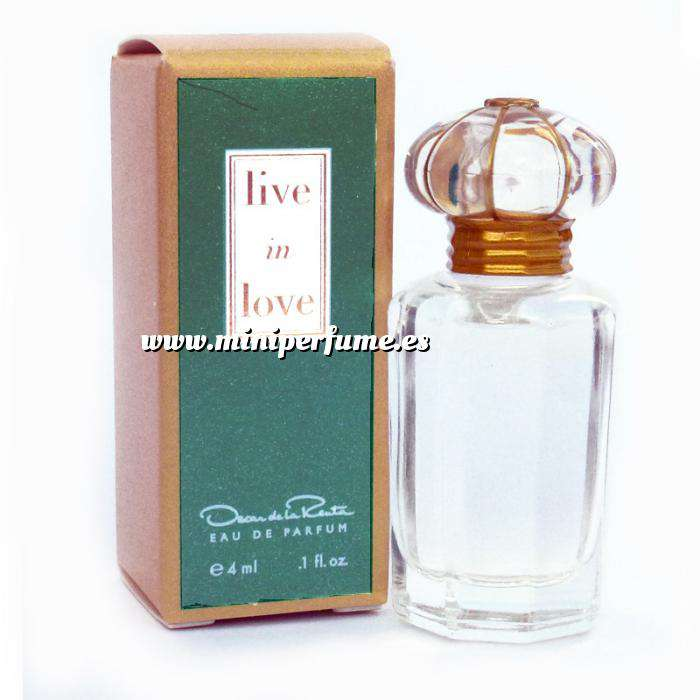 Imagen Mini Perfumes Mujer Live in Love Eau de Parfum by Óscar de la Renta 4ml. (Últimas Unidades)