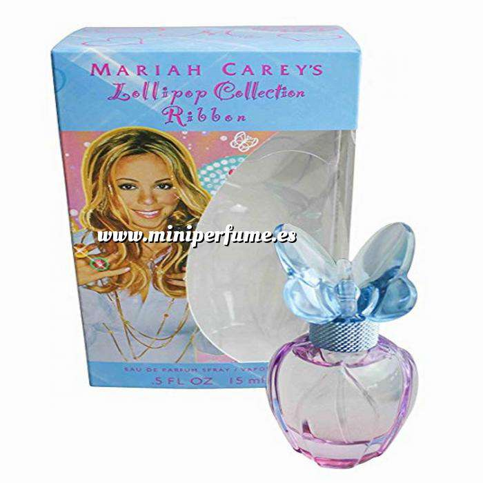 Imagen Mini Perfumes Mujer Lollipop Bling Ribbon Mariah Carey 15ml (Ultimas unidades)