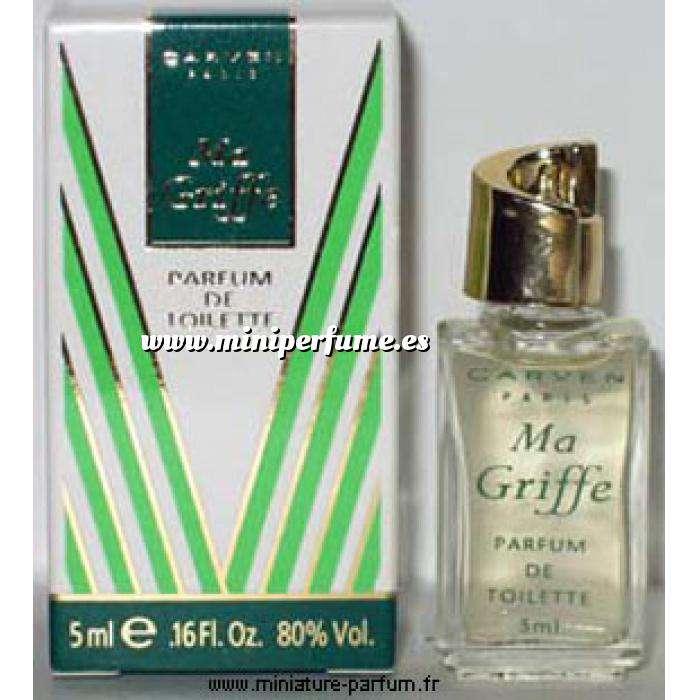 Imagen Mini Perfumes Mujer Ma Griffe Parfum de Toiltette by Carven 5ml. (Ideal Coleccionistas) (Últimas Unidades)