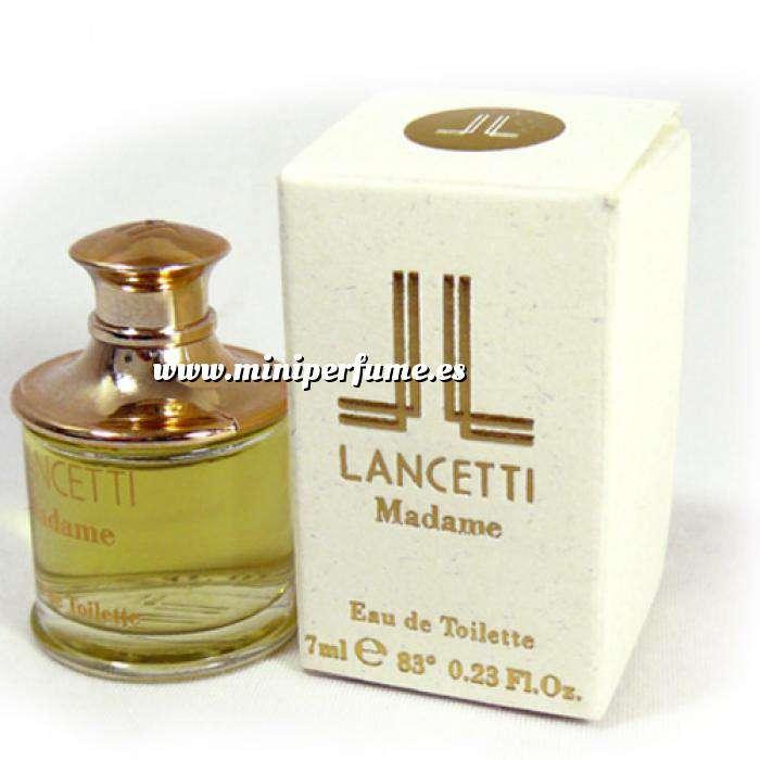 Imagen Mini Perfumes Mujer Madame Eau de Toilette by Lancetti 7ml. (Caja pequeña) (Ideal Coleccionistas) (Últimas Unidades)
