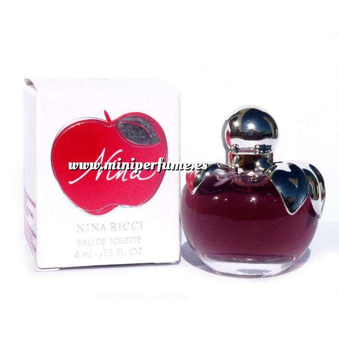 Imagen Mini Perfumes Mujer Nina Eau de Toilette by Nina Ricci 4ml. (Últimas Unidades)