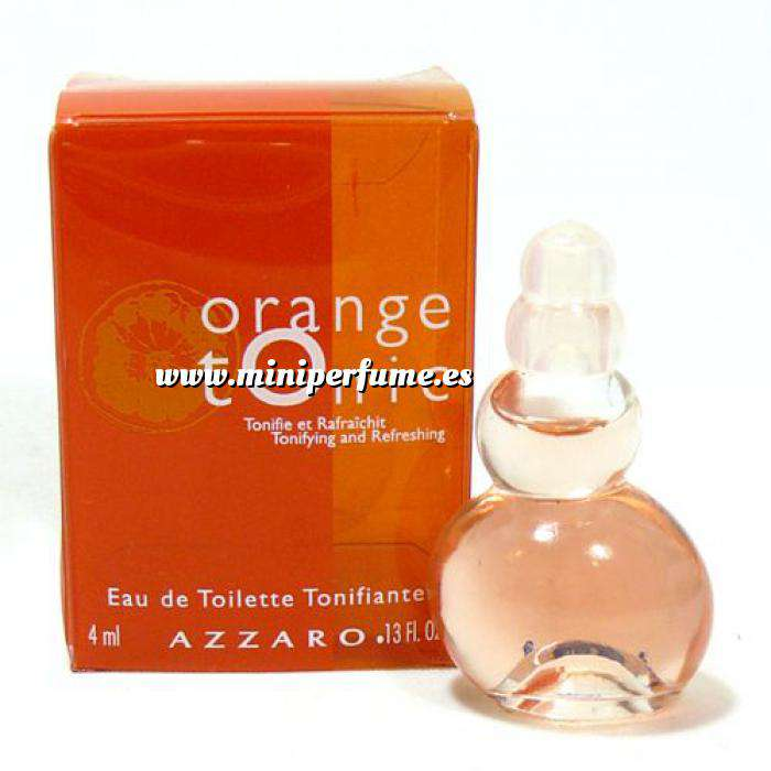 Imagen Mini Perfumes Mujer Orange Tonic Eau de Toilette by Azzaro 4ml. (Especial para boda) (Últimas Unidades)