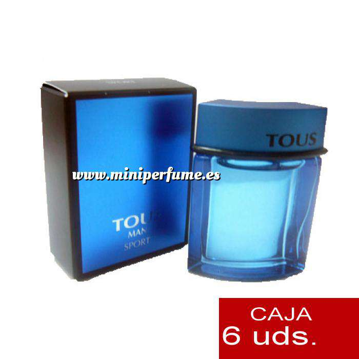 Imagen Tous Mujer Tous Man Sport 4.5 ml Pack 6 uds.