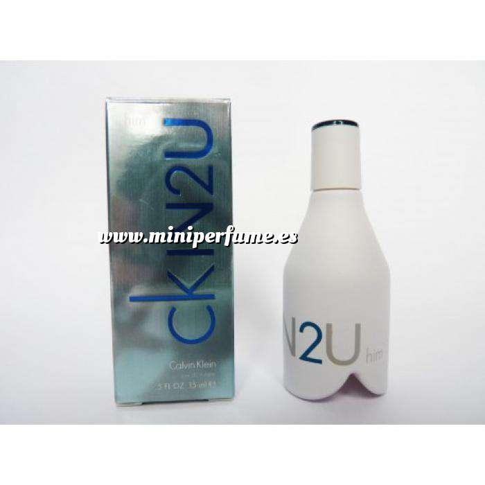 Imagen -Mini Perfumes Hombre CK IN2U Eau de toilette 15 ml (Últimas Unidades)