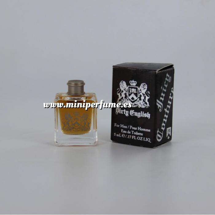 Imagen -Mini Perfumes Hombre Dirty English Eau de Toilette by Men Juicy Couture 5ml. (Últimas Unidades)