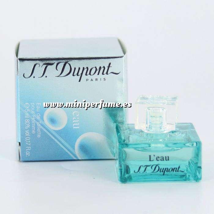 Imagen -Mini Perfumes Hombre L Eau pour homme by S.T. Dupont 4.5ml. (Últimas Unidades)