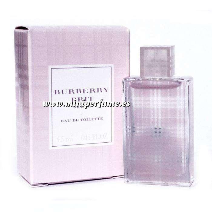 Imagen -Mini Perfumes Mujer Brit Sheer Eau de Toilette by Burberry 4.5ml. (Últimas Unidades)