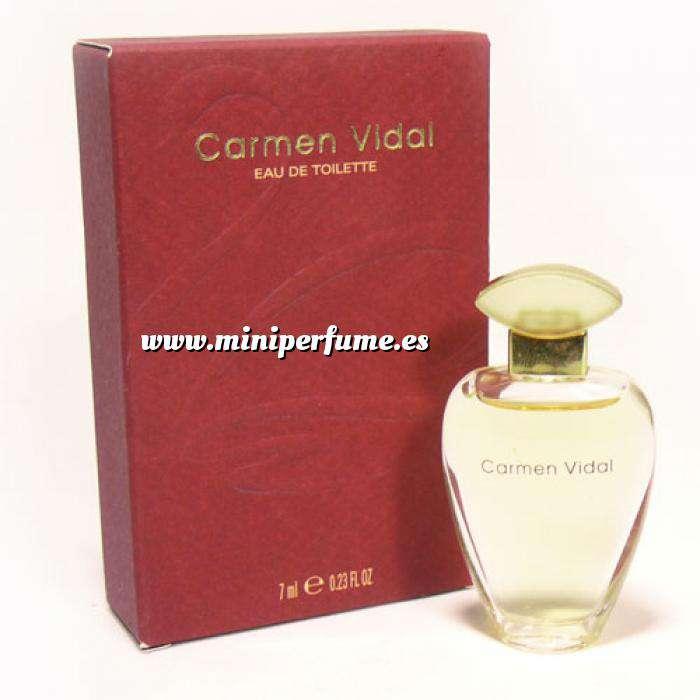 Imagen -Mini Perfumes Mujer Carmen Vidal Eau de Toilette by Germaine de Capuccini 7ml. (Ideal Coleccionistas) (Últimas Unidades)