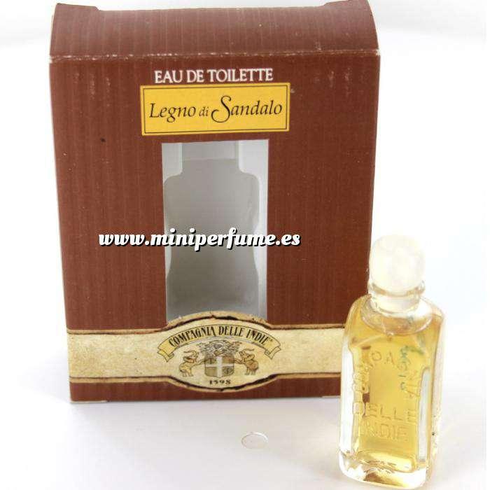 Imagen -Mini Perfumes Mujer Legno di Sandalo Eau de Toilette by Compagnia delle Indie 7ml. (Últimas Unidades)