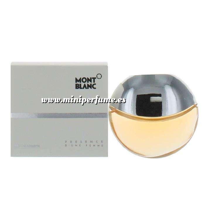 Imagen -Mini Perfumes Mujer Presence de Mont Blanc (IDEAL COLECCIONISTAS) 10 ml (Últimas Unidades)