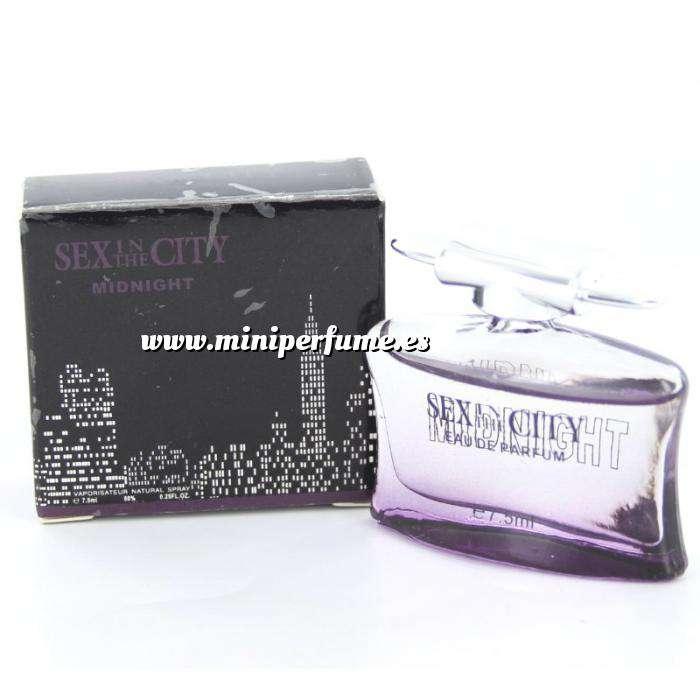 Imagen -Mini Perfumes Mujer Sex In the city - Midnight Eau de Parfum 7,5ml. by InStyle (IDEAL COLECCIONISTAS) (Últimas Unidades)