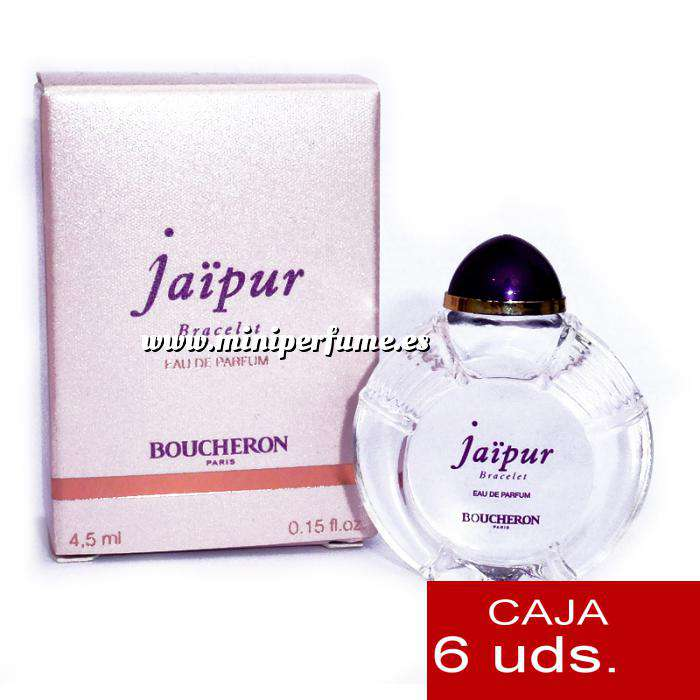 Imagen .PACKS PARA BODAS Jaipur Bracelet Eau de Parfum by Boucheron Paris 4,5ml.PACK 6 UNIDADES