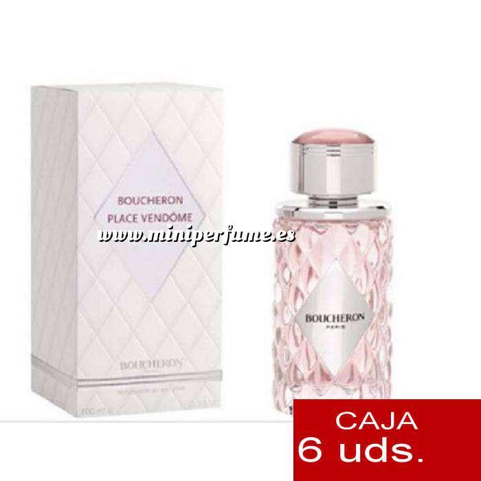 Imagen .PACKS PARA BODAS Place Vêndome Eau de Parfum by Boucheron 4,5ml. PACK 6 UNIDADES