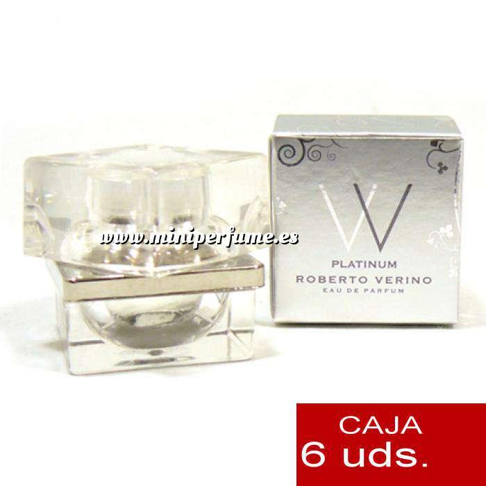 Imagen .PACKS PARA BODAS VV Platinum de Roberto Verino 4ml. PACK 6 UNIDADES (Últimas Unidades)
