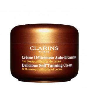 Cuidado Personal - CLARINS Crema Deliciosa Autobronceadora-125 ml (Últimas Unidades)