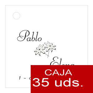 Etiquetas impresas - Etiqueta Modelo C02 (Paquete de 35 etiquetas 4x4)