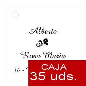 Etiquetas impresas - Etiqueta Modelo C03 (Paquete de 35 etiquetas 4x4)
