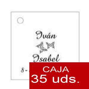 Imagen Etiquetas impresas Etiqueta Modelo D02 (Paquete de 35 etiquetas 4x4)