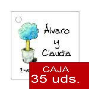 Imagen Etiquetas impresas Etiqueta Modelo D08 (Paquete de 35 etiquetas 4x4)
