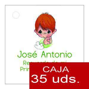 Etiquetas impresas - Etiqueta Modelo E16 (Paquete de 35 etiquetas 4x4)