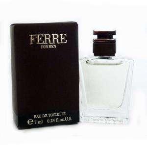 Mini Perfumes Hombre - Ferre For Men Eau de Toilette by Gianfranco Ferre 7ml. (Últimas Unidades)