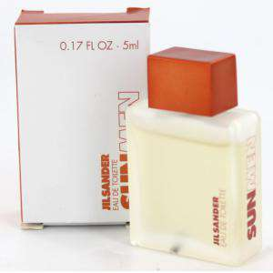 Mini Perfumes Hombre - Sun Men Eau de Toilette by Jil Sander 5ml. (Últimas Unidades)