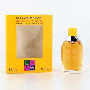 Mini Perfumes Mujer - Active Eau de Toilette by Luciano Soprani 5ml. (Últimas Unidades)