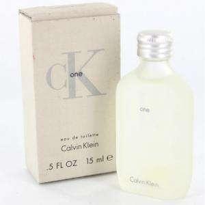 Mini Perfumes Mujer - CK One Eau de Toilette by Calvin Klein 15ml. (Últimas Unidades)