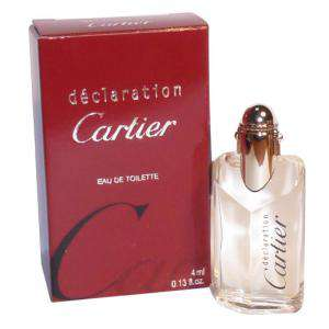 Mini Perfumes Mujer - Déclaration Eau de Toilette (No vaporisateur) by Cartier 4ml. (Últimas Unidades)