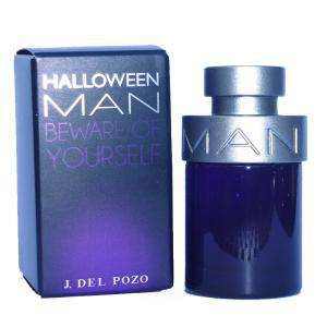 -Mini Perfumes Hombre - Halloween Man Eau de Toilette - Beware Of Yourself de Jesús del Pozo 4ml.