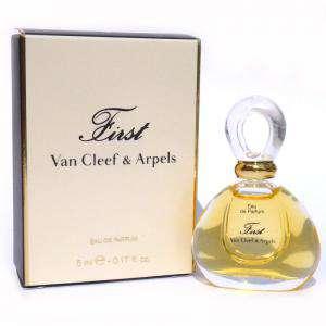 -Mini Perfumes Mujer - First Eau de Parfum by Van Cleef & Arpels 5ml. CAJA BLANCA (Últimas Unidades)