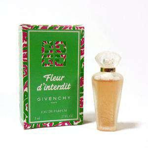 -Mini Perfumes Mujer - Fleur d Interdit by Givenchy 5ml. caja usada (Ideal Coleccionistas) (Últimas Unidades)