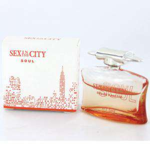 -Mini Perfumes Mujer - Sex In the city - Soul Eau de Parfum 7,5ml. by InStyle (IDEAL COLECCIONISTAS) (Últimas Unidades)
