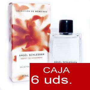 .PACKS PARA BODAS - Esprit de Gingembre Eau de Toilette by Angel Schlesser 7ml. PACK 6 UNIDADES