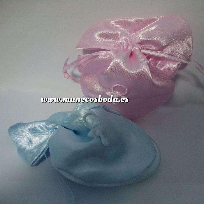 Imagen Detalles de Bautizo Bolsita chupete rosa y/o azul