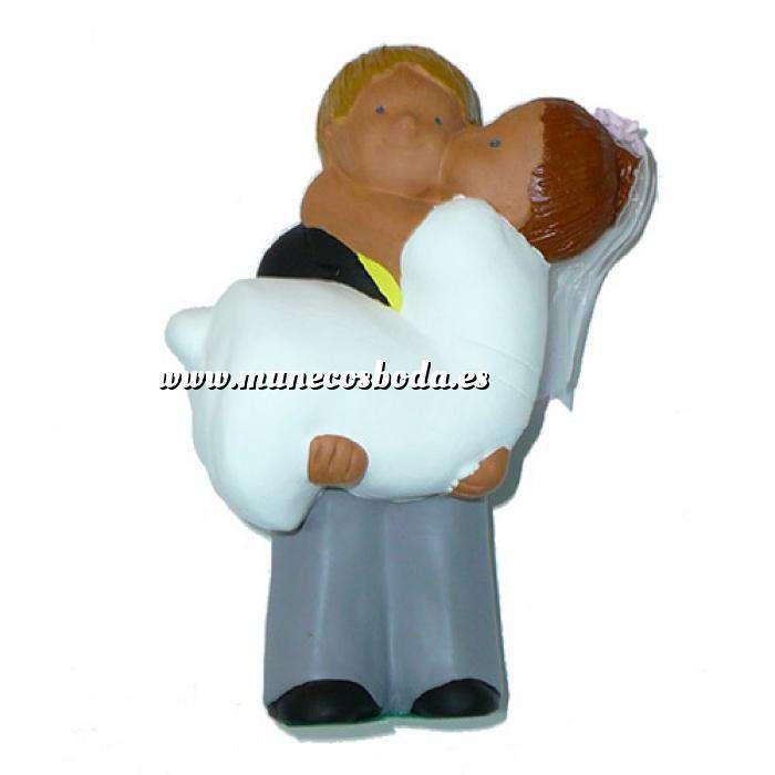 Imagen Novios tarta Clásicos Figura Pastel Ella en brazos (Bubinots) (Últimas Unidades)