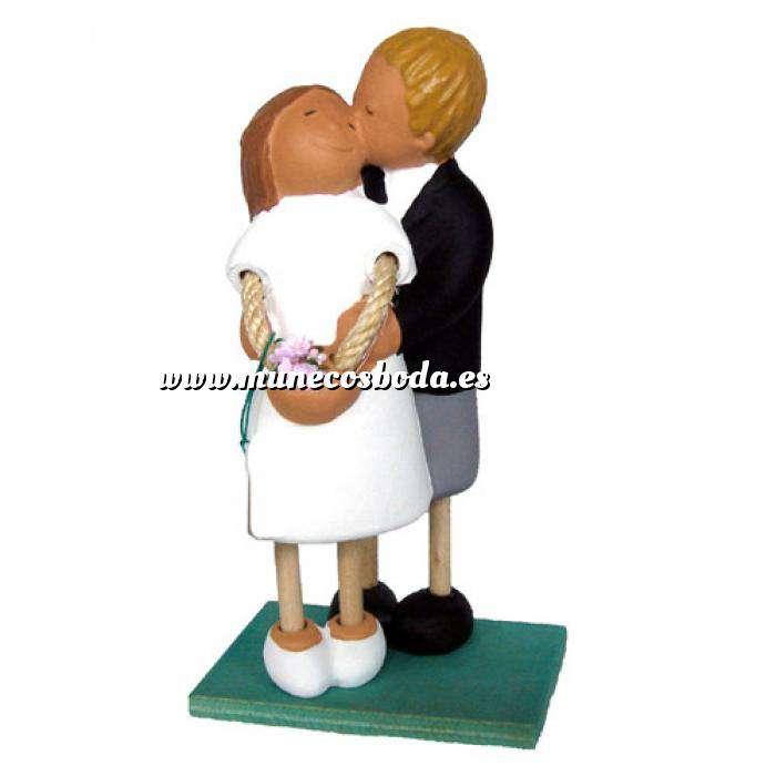 Imagen Novios tarta Clásicos Figura Pastel Novio besito (Bubinots) (Últimas Unidades)