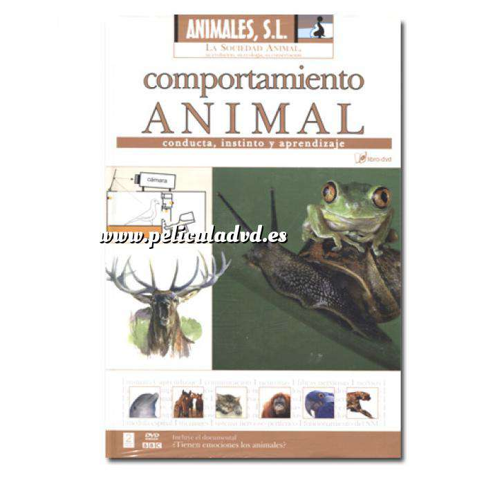 Imagen Animales S.L. DVD Animales S.L. - Comportamiento Animal (Últimas Unidades)