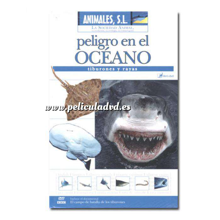 Imagen Animales S.L. DVD Animales S.L. - Peligro en el océano (Últimas Unidades)