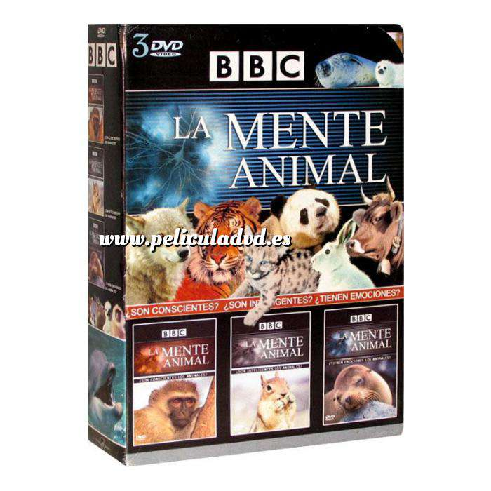 Imagen Documentales Documental: La mente animal (3 dvd´s) (Últimas Unidades)