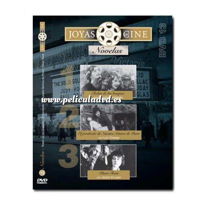 Imagen Joyas del cine Joyas del Cine 13 - Novelas - Robín de los Bosques / El jorobado de Notre Dame / Oliver Twist (Últimas Unidades)