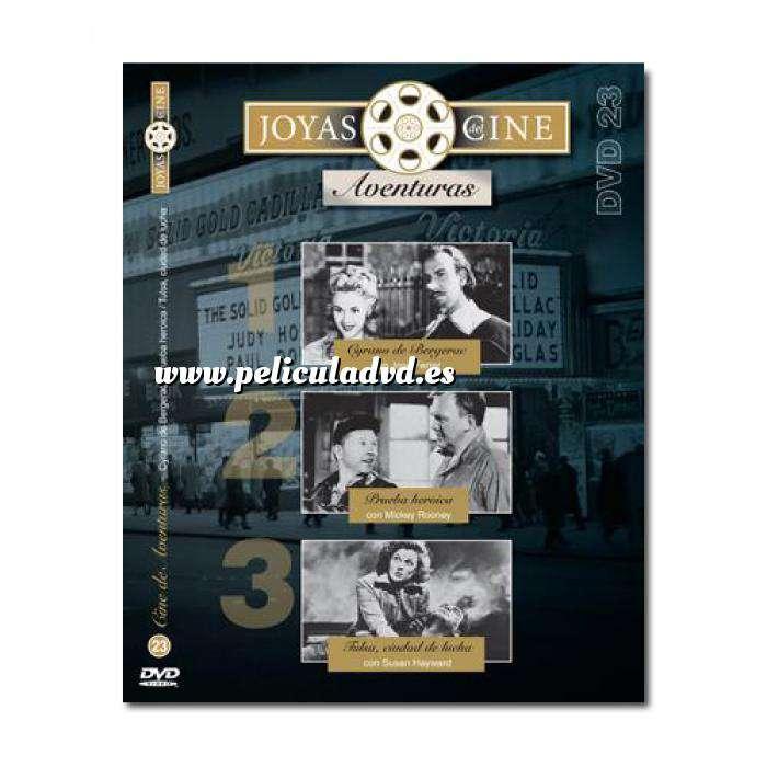 Imagen Joyas del cine Joyas del Cine 23 - Aventuras - Cyrano de Bergerac / Prueba heroica / Tulsa, ciudad de lucha (Últimas Unidades)
