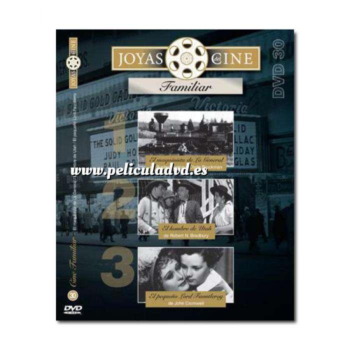 Imagen Joyas del cine Joyas del Cine 30 - El Maquinista de La General / El Hombre de Utah / El Pequeño Lord Fauntleroy (Últimas Unidades)