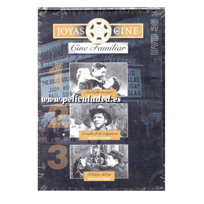Imagen Joyas del cine Joyas del Cine 35 - Familiar - Qué bello es Vivir / El valle de la venganza / El héroe del rio (Últimas Unidades)