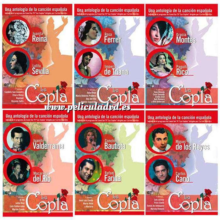 Imagen La Copla Colección DVD - La Copla (6 dvds) (Últimas Unidades)