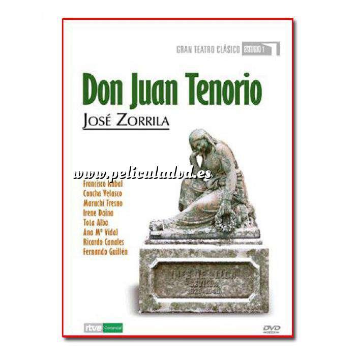 Imagen Teatro Clásico Colección DVD Teatro Clásico en Español - Don Juan Tenorio (Últimas Unidades)