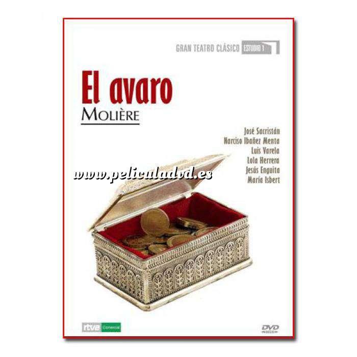 Imagen Teatro Clásico Colección DVD Teatro Clásico en Español - El Avaro (Últimas Unidades)