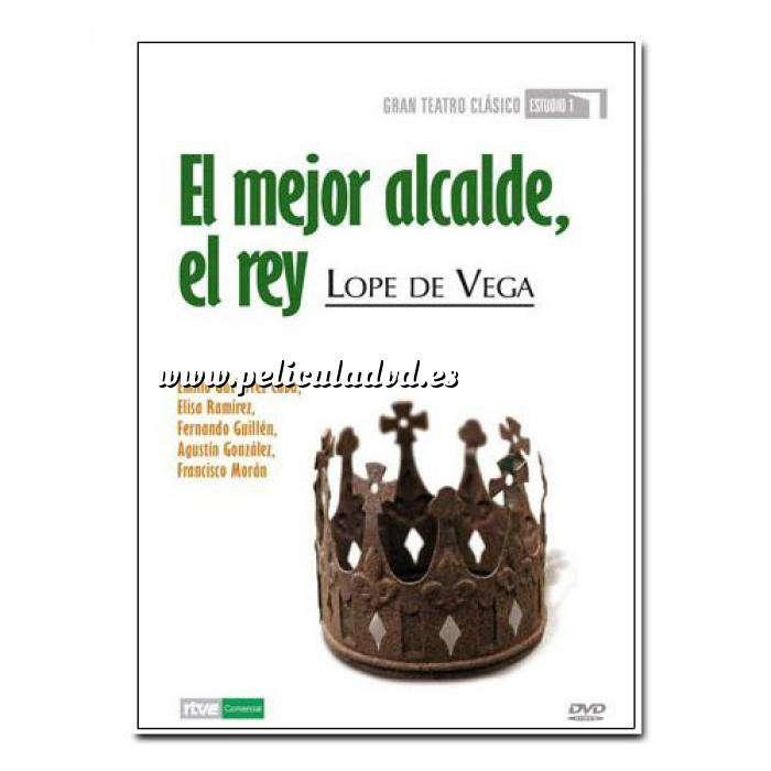 Imagen Teatro Clásico Colección DVD Teatro Clásico en Español - El mejor alcalde, el Rey (Últimas Unidades)