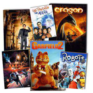 Cine Infantil - COLECCIÓN COMPLETA DVD Cine infantil (Últimas Unidades)