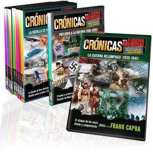II Guerra Mundial - COLECCIÓN DVD Crónicas de la Segunda Guerra Mundial - 8 dvd´s (Últimas Unidades)